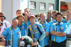 Second place Chris Vermeulen