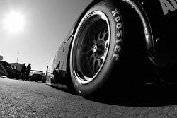 Detail of the Michael Shank Racing Lexus Riley