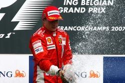 1st place Kimi Raikkonen, Scuderia Ferrari