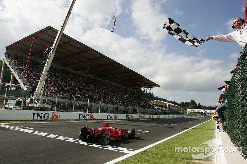 2007. Переможець: Кімі Райкконен, Ferrari