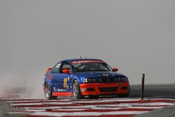 #11 Southwest Racers Group BMW M3: Mike Halpin, Robert Chase manque son virage