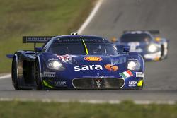 #12 Scuderia Playteam Sarafree Maserati MC 12: Giambattista Giannoccaro, Alessandro Pier Guidi