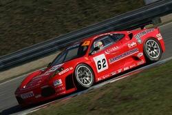 #62 Scuderia Ecosse Ferrari 430 GT2: Tim Mullen, Darren Turner