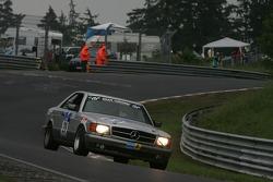 #20 Derichs Rennwagen Mercedes 126 C: Matthias Schenzle, Andrea Kammerl, Erwin Derichs