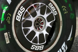 Scuderia Ferrari wheel detail