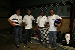 The winning team receives its award