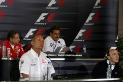 Жан Тодт, Scuderia Ferrari, Марио Тиссен, BMW Sauber F1, Рон Деннис, McLaren, Фрэнк Уильямс, WilliamsF1