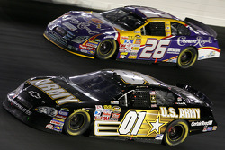 Mark Martin and Jamie McMurray
