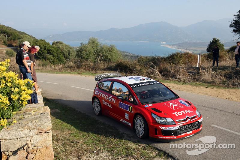 2007, Tour de Corse, Citroën C4 WRC