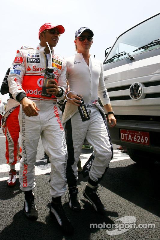 Em 2007 Rosberg teve seu melhor resultado em Interlagos, com a quarta posição. Foram 20 pontos e o nono lugar na temporada.