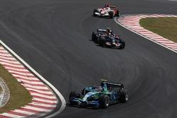 Rubens Barrichello, Honda Racing F1 Team, Sebastian Vettel, Takuma Sato, Super Aguri F1