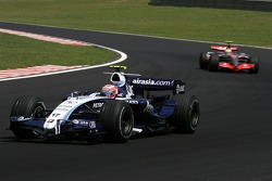 Kazuki Nakajima, Williams F1 Team, Lewis Hamilton, McLaren Mercedes