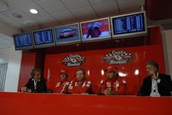 Scuderia Ferrari Marlboro press conference