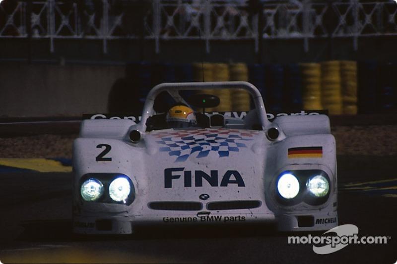 #2 Team BMW Motorsport BMW V12 LM: Pierluigi Martini, Johnny Cecotto, Joachim Winkelhock