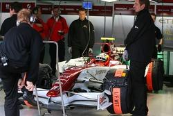Giedo van der Garde, Test Driver, Force India F1 Team