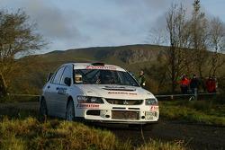 Stuart Jones and Andy Bull, Mitsubishi Lancer Evolution IX