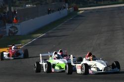 Jordan Williams, Team Loctite and Eric Morrow, Atlantic Racing Team