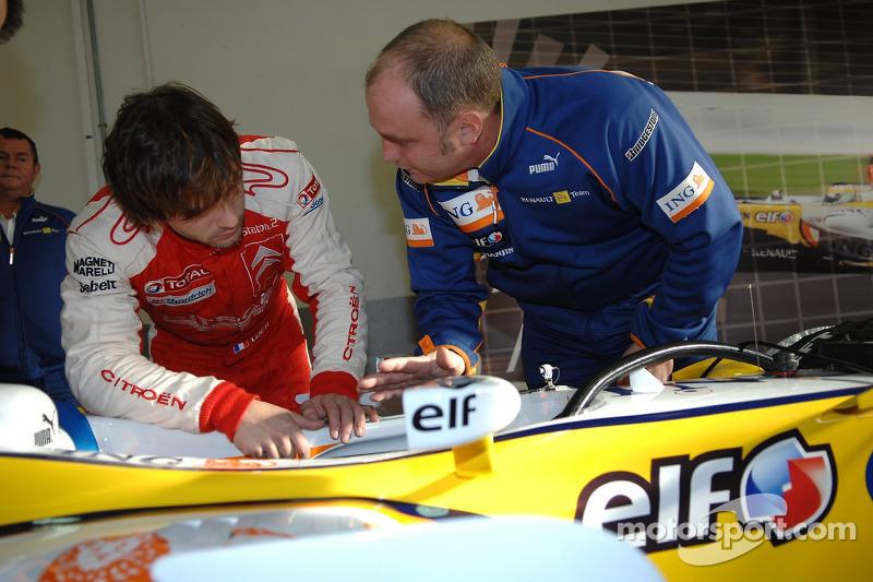 Себастьян Льоб готується до тестів з Renault F1