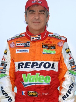 Repsol Mitsubishi Ralliart Team: Gilles Picard
