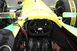 Team Australia Cockpit Ian Dyk, driver of A1 Team Australia