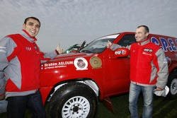 Team Dessoude presentation in Le Galicet: Brahim Asloum and Patrick Antoniolli
