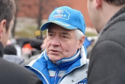Kamaz-Master ceremonial start on the Red Square in Moscow: Semen Yakubov
