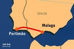 "Stage 2: 2008-01-06, Portim""o to M·laga"