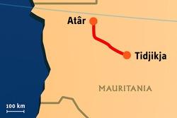 Stage 11: 2008-01-16, At'r to Tidjikja
