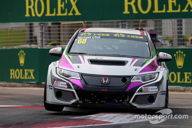 Майкл Чой, Honda Civic TCR, Prince Racing Hong Kong