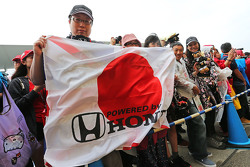 McLaren Honda fans
