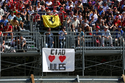 A message for Jules Bianchi