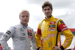 Felix Rosenqvist, Prema Powerteam Dallara F312 - Mercedes-Benz, Antonio Giovinazzi, Jagonya Ayam with Carlin Dallara F312 - Volkswagen