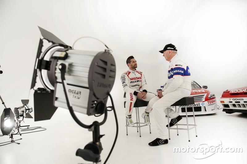 Michael Caruso ve Jim Richards, Nissan Motorsports videosu