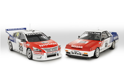 Retrolackierung für Michael Caruso und Dean Fiore, Nissan Motorsports