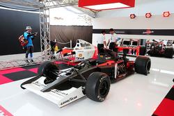 A McLaren Honda MP4/6 on display