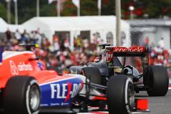 帕斯托·马尔多纳多,路特斯E23与亚历山大·罗西,马诺车队