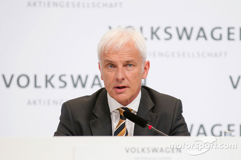 Matthias Müller, Volkswagen CEO'su