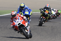 Andrea Dovizioso, Ducati Team and Aleix Espargaro, Team Suzuki MotoGP and Bradley Smith, Tech 3 Yamaha