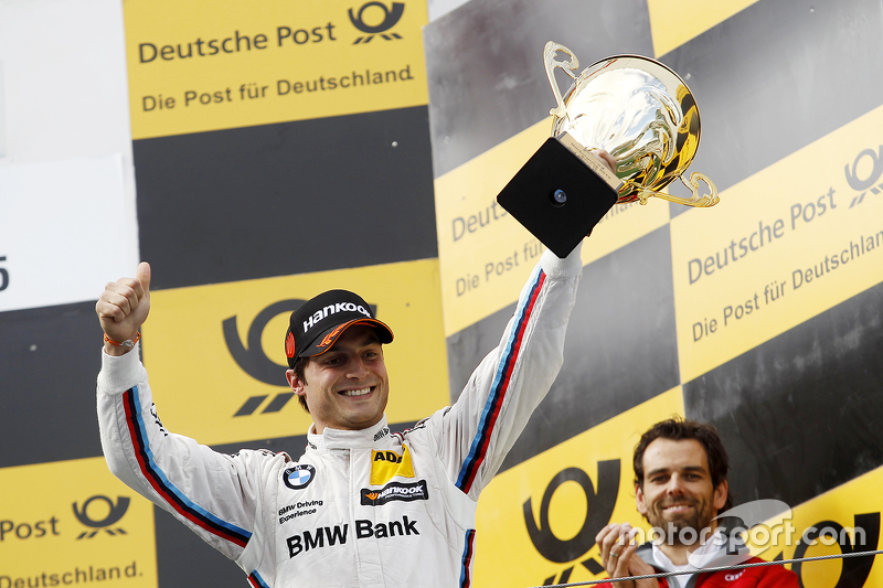 Podium: third place Bruno Spengler, BMW Team MTEK