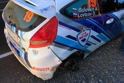 Сход Андрея Головкина, Ford Fiesta R2