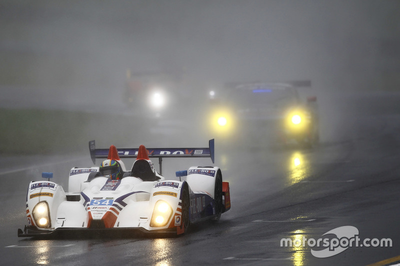 #54 CORE autosport Oreca FLM09: Джон Беннетт, Колін Браун, Anthony Lazzaro