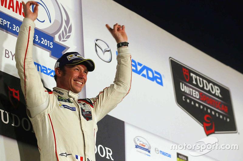 Overall winner Patrick Pilet
