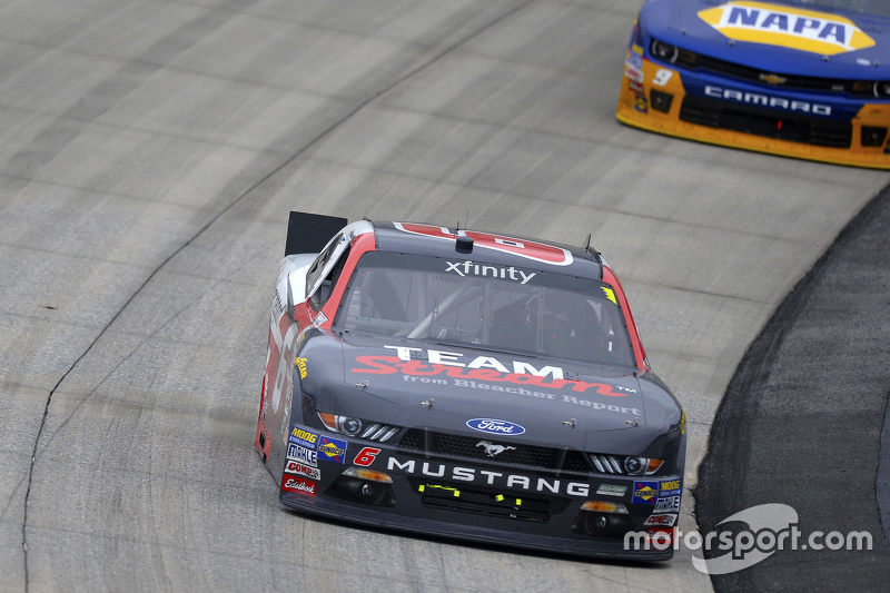 Kyle Larson, HScott Motorsports Chevrolet and Ryan Reed, Roush Fenway Racing Ford