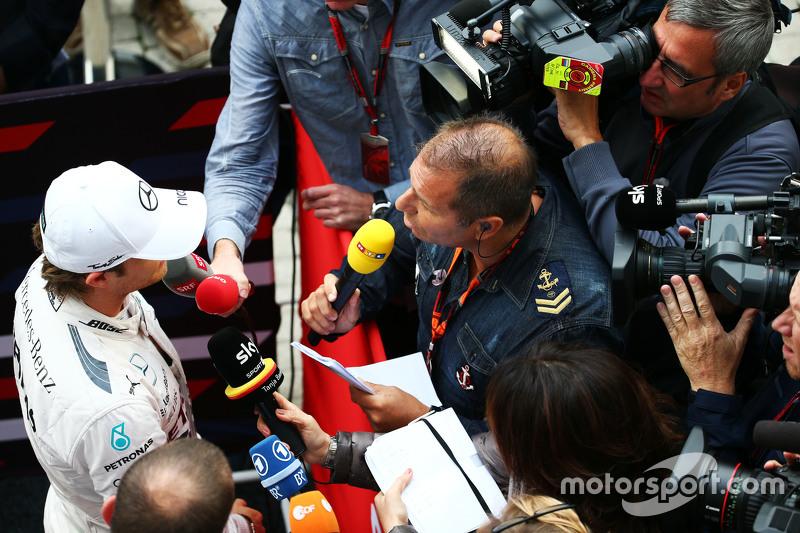 Ніко Росберг, Mercedes AMG F1 з Кай Ебель, RTL TV Коментатор