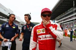 Kimi Raikkonen, Ferrari sulla griglia