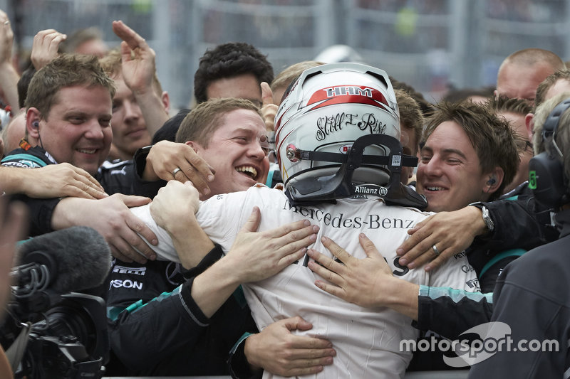 Lewis Hamilton, Mercedes en Rusia 2015