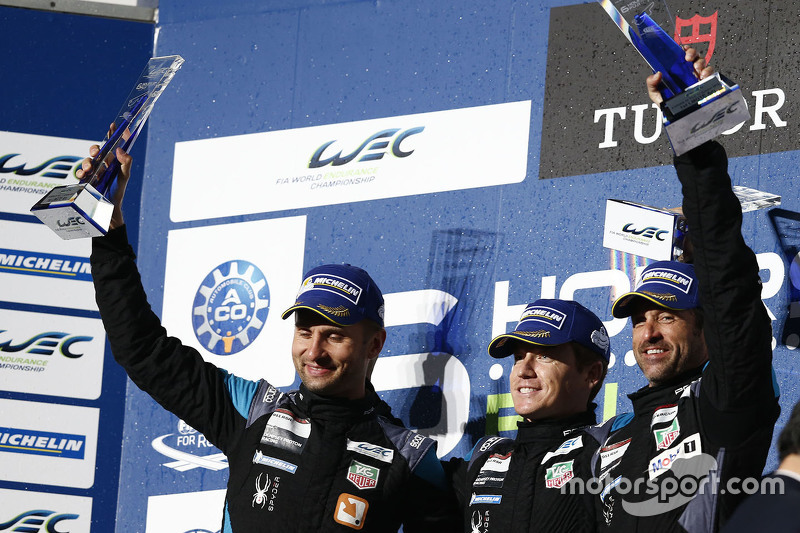 Winners GTE-Am class Patrick Dempsey, Patrick Long, Marco Seefried, Dempsey Proton Competition