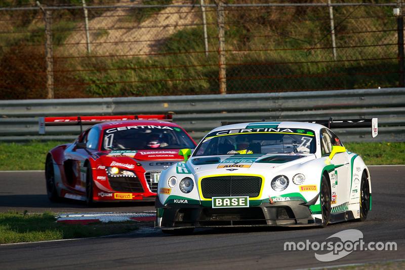 #7 Bentley Team HTP Bentley Continental GT3: Йерун Блекемолен, Лука Штолц