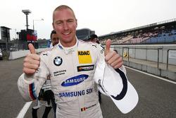 Le poleman Maxime Martin, BMW Team RMG BMW M4 DTM