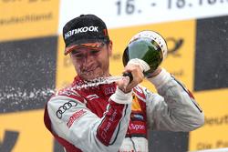 Podium: 1. Timo Scheider, Audi Sport Team Phoenix, Audi RS 5 DTM